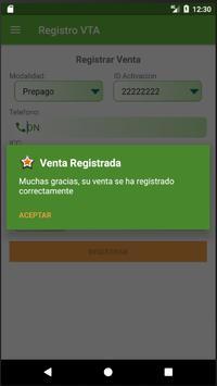 Registro VTA screenshot 4