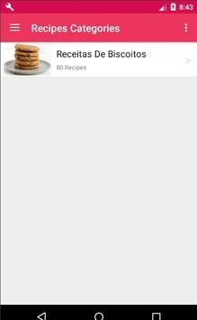 Receita De Biscoito screenshot 2