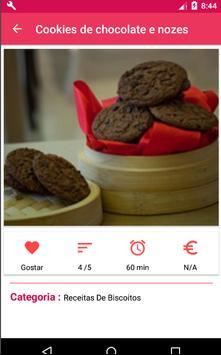 Receita De Biscoito screenshot 5