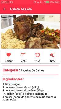 Receitas Carnes apk screenshot
