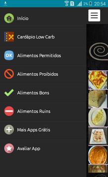 Receitas Low Carb - Português screenshot 1