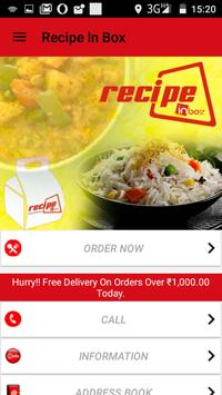 Recipe In Box apk screenshot