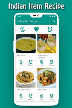220+ Indian Item Recipes in English 2018 poster