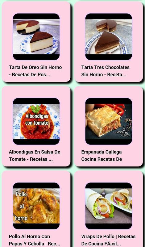 Recetas De Cocina Facil For Android Apk Download