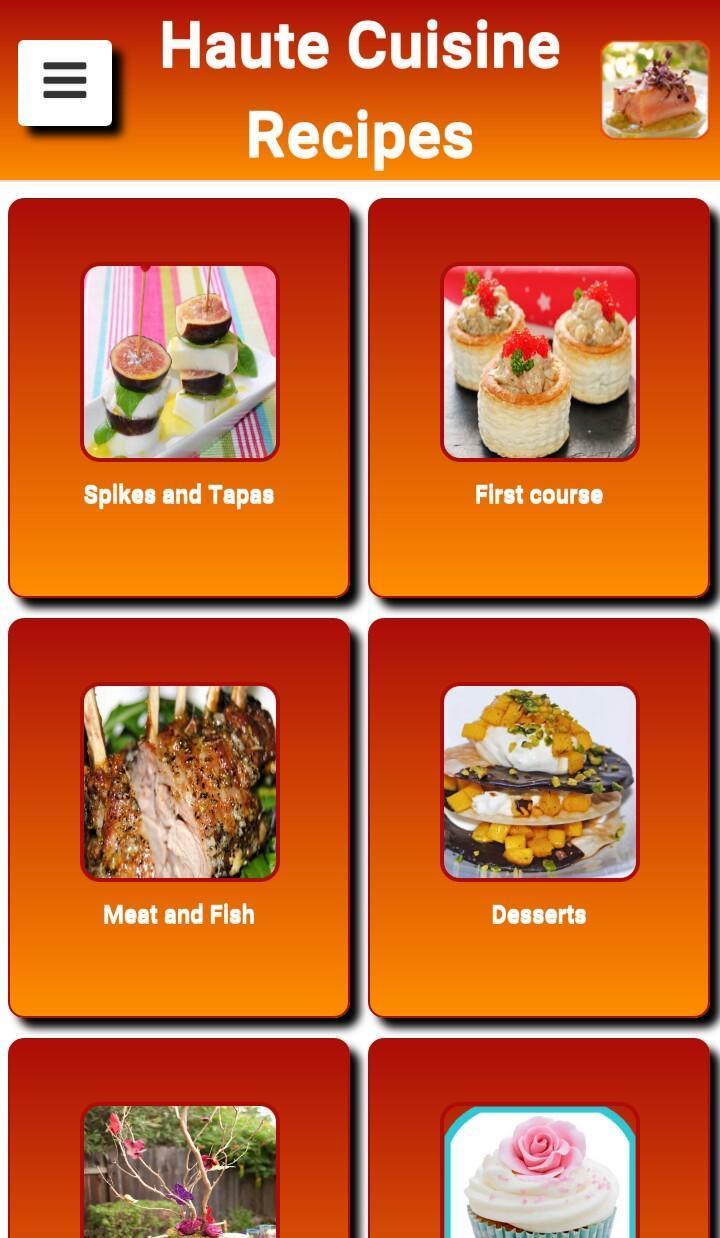 Recetas De Alta Cocina For Android Apk Download