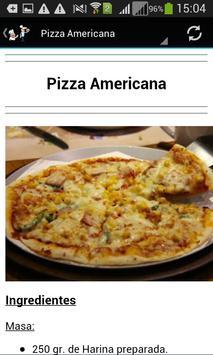 Recetas De Pizza apk screenshot