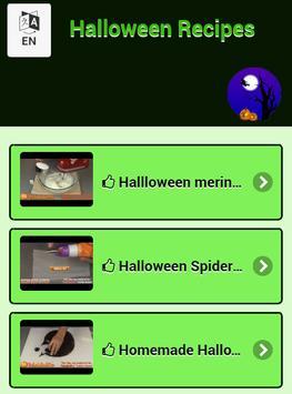 Halloween Recipes poster