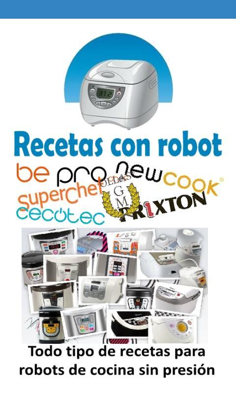Recetas Con Robot For Android Apk Download