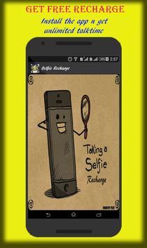Earn Talktime-Selfie Recharge poster