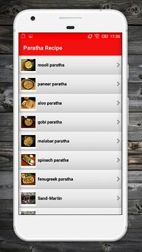 Paratha Recipes screenshot 1