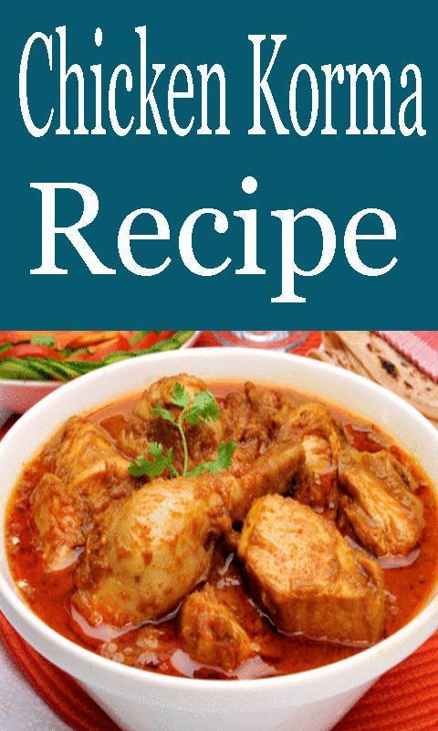 Chicken korma food recipes app videos descarga apk gratis chicken korma food recipes app videos poster forumfinder Image collections