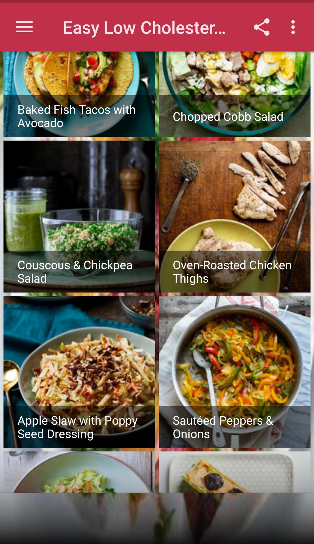 Easy Low Cholesterol Recipes For Android Apk Download