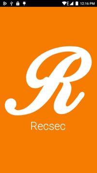 Recsec poster