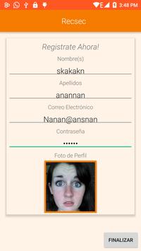Recsec screenshot 3