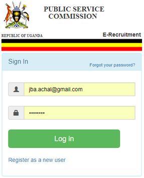 PSC E-Recruitment poster