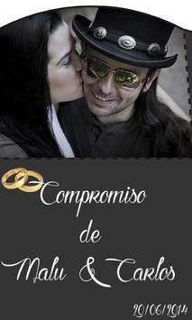 Boda Malu y Carlos poster