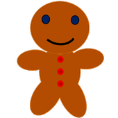Christmas Gingerbread Man 2017 icon