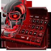 Bleeding Skull Keyboard Theme icon