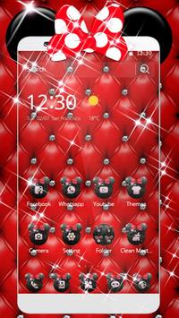 Red Minny Leather Theme poster