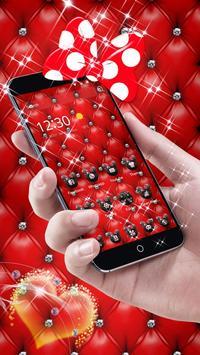 Red Minny Leather Theme apk screenshot