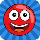 لعبة مغامرات الكرة الحمراء Red ball adventure Game icon