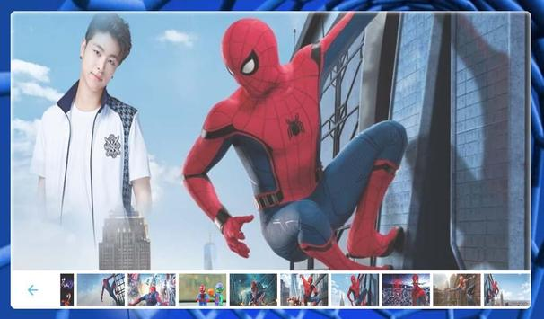 SpiderMan Photo frame screenshot 3