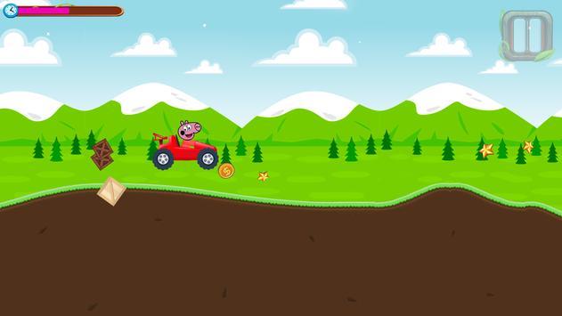 Red Pepa Pig Racing screenshot 1