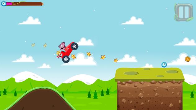 Red Pepa Pig Racing screenshot 2