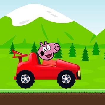 Red Pepa Pig Racing screenshot 4