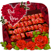 Red Rose Keyboard Theme icon