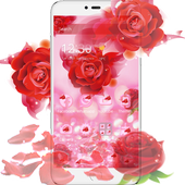 Romantic Love Rose Theme icon