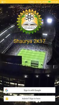 Shaurya 2K17 poster