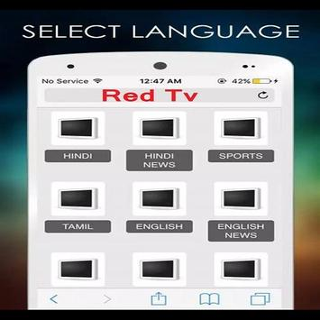 Red Tv poster