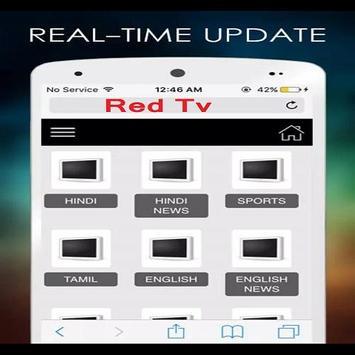 Red Tv screenshot 1