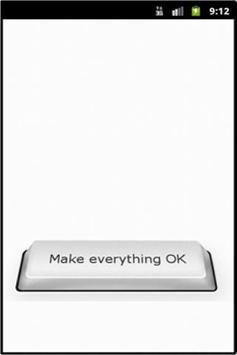 OK Button poster