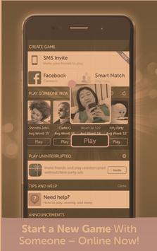 Words Friends Games New PLAY 2018 screenshot 2