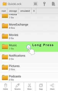 QuickLock - File Locker Free screenshot 4