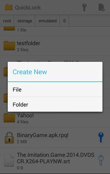 QuickLock - File Locker Free screenshot 6