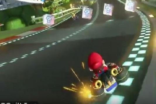 New Mario Kart 8 Trick poster