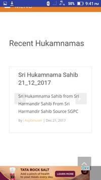 Daily Sri Hukamnama Sahib screenshot 2