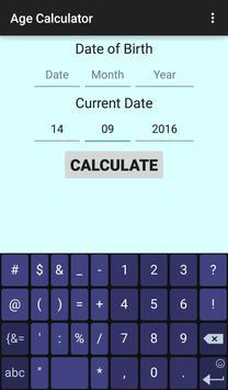Advanced Age Calculator poster