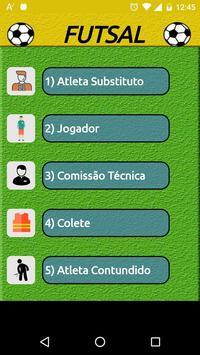 Regras do Futsal - Alterações poster
