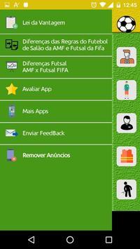 Regras do Futsal - Alterações screenshot 1