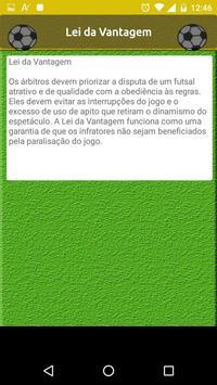 Regras do Futsal - Alterações screenshot 2