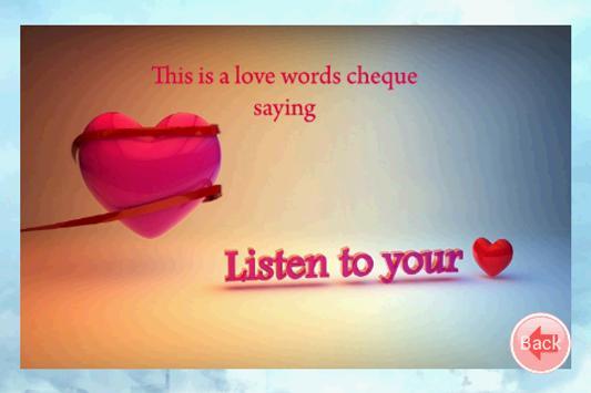 Love Cheques screenshot 4
