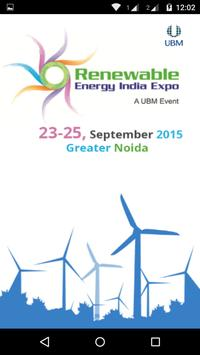 Renewable Energy India Expo poster