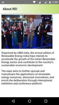 Renewable Energy India Expo apk screenshot