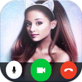 Video Call From Ariana Grande 🌟 icon