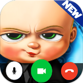 Video Call From Baby Boss - Prank icon