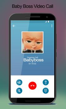 Video Call From Baby Boss - Prank poster